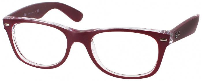 e2598ad8cb Matte Bordeaux Ray-Ban 2132L Full Frame - ReadingGlasses.com