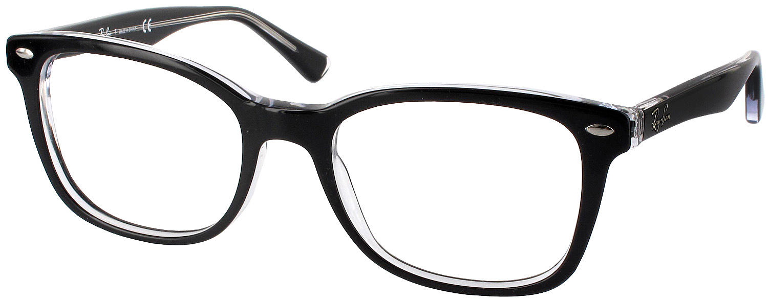 Ray Ban Reading Glasses Frame : Ray-Ban 5285 Progressive No Line Bifocal - ReadingGlasses.com