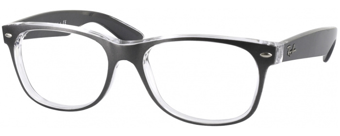 45d45a30aa Brushed Gunmetal Ray-Ban 2132L No Line Bifocal - ReadingGlasses.com