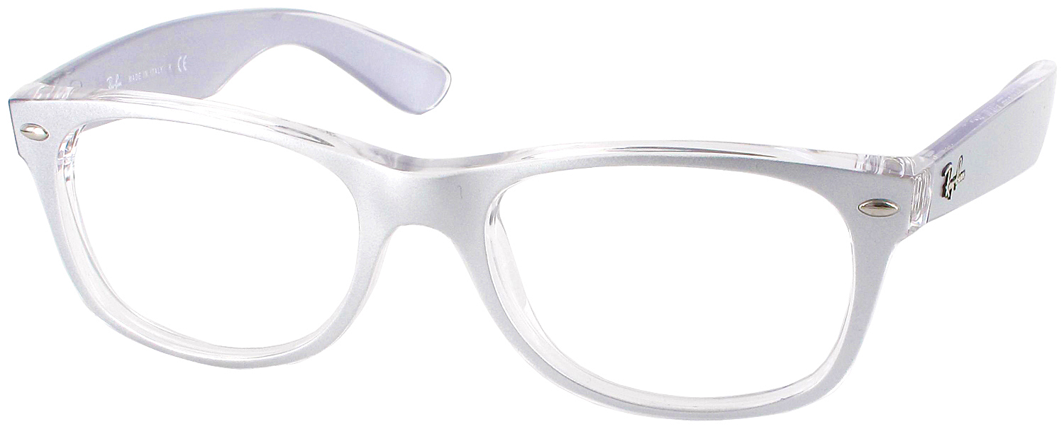 Ray Ban Reading Glasses Frame : rb_2132_c6144transsliver_20d.jpg