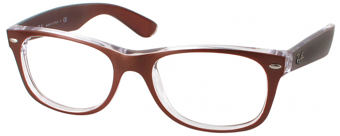 3afd3ded50 Brown Crystal Ray-Ban 2132 Full Frame - ReadingGlasses.com