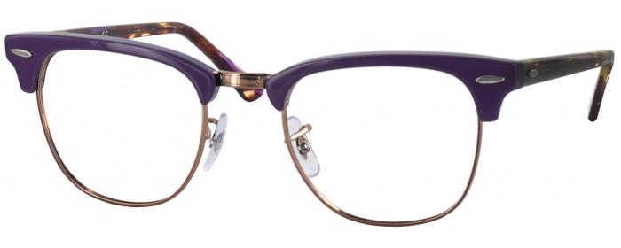 6de24eabe0 Purple Ray-Ban 3016 No Line Bifocal - ReadingGlasses.com