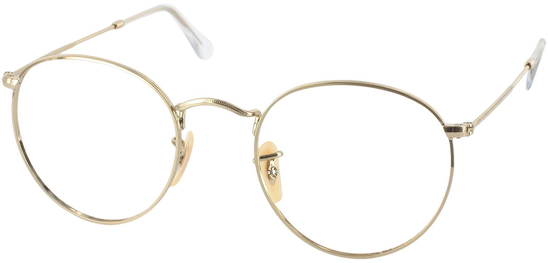 Ray Ban Gold Frame Glasses