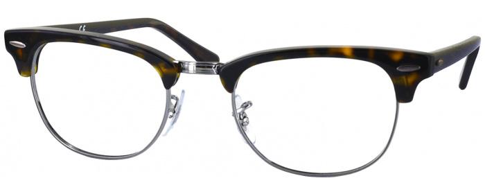 f9e736b81f Dark Havana Ray-Ban 5154L Single Vision Full Frame - ReadingGlasses.com