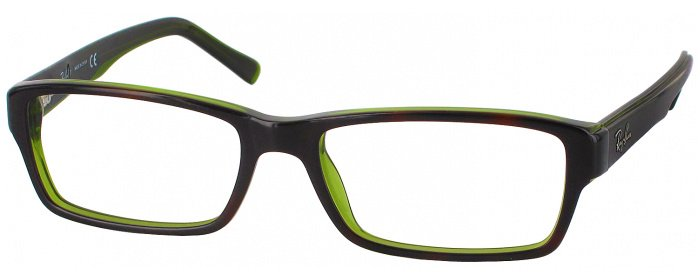 19b8888af2 Havana Ray-Ban 5169 Progressive No Line Bifocal - ReadingGlasses.com