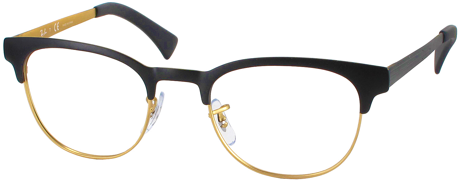 Ray Ban Reading Glasses Frame : Ray-Ban 6317 Single Vision Full Frame - ReadingGlasses.com