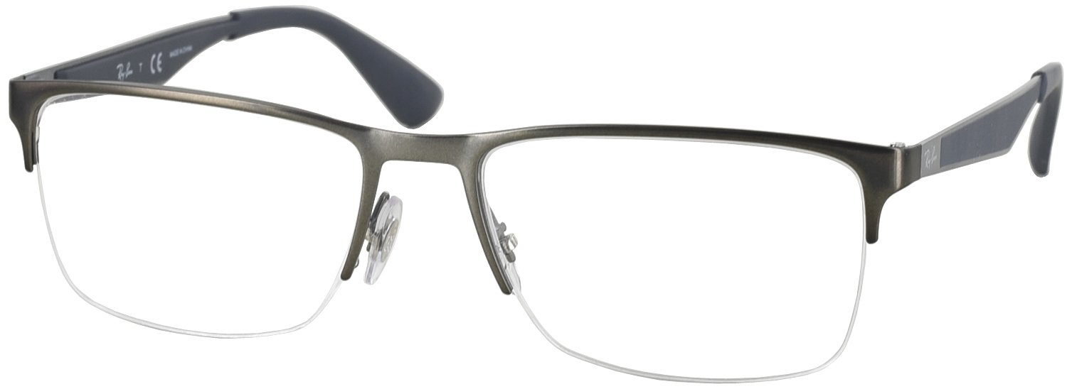 Ray Ban Reading Glasses Frame : Ray-Ban 6335 Single Vision Full Frame - ReadingGlasses.com