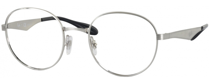 1b7212c0ce Gunmetal Ray-Ban 6343 Progressive No Line Bifocal - ReadingGlasses.com