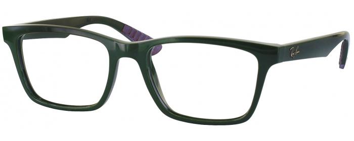 Military Green Ray-Ban 7025 Single Vision Full Frame ...