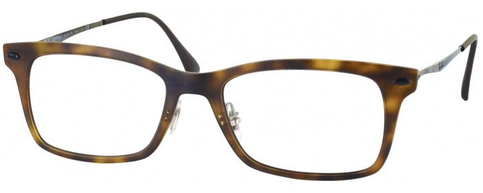 445be83b1f Matte Havana Ray-Ban 7039 Progressive No Line Bifocal ...