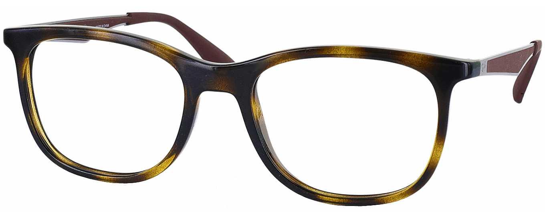Ray-Ban 7078 Single Vision Full Frame - ReadingGlasses.com