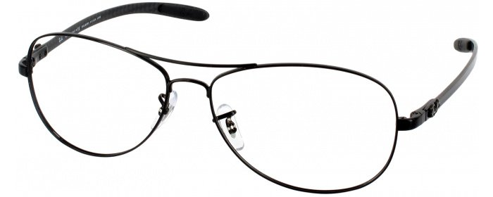 069fa642dc Black Ray-Ban 8301 No Line Bifocal - ReadingGlasses.com