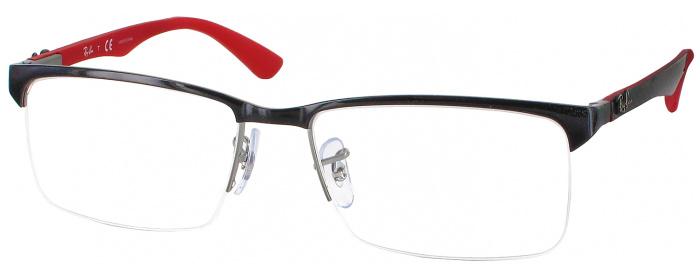 3051557fb2da79 Shiny Black Ray-Ban 8411 CL - ReadingGlasses.com