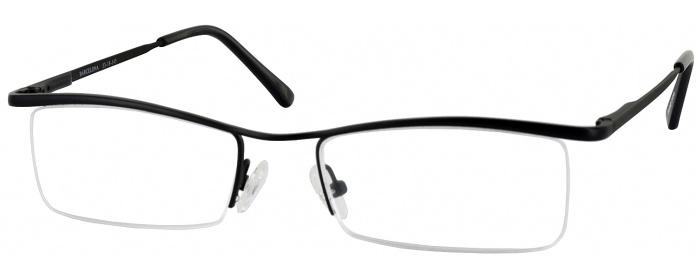 9d18f96ee938 Matte Black Barcelona - ReadingGlasses.com