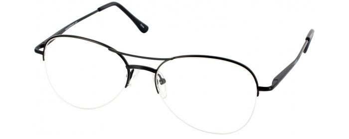 d846f1554f Black Pilot Flex Designer Reading Glasses by ReadingGlasses.com ...