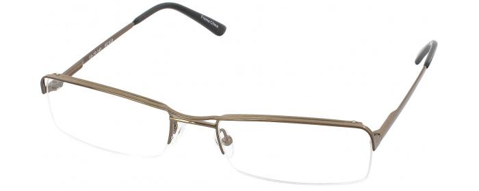 1124956611 Shiny Brown Seattle Eyeworks 900 No Line Bifocal - ReadingGlasses.com