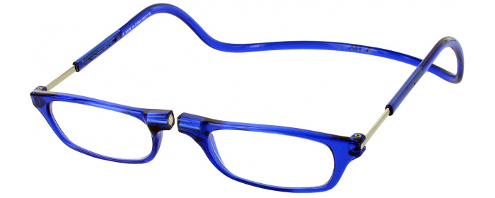2adb5d95085e4 Blue Clic Reader Magnetic Reading Glasses