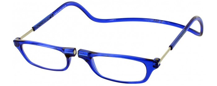 19a20c6c1f57 Blue Clic Reader Magnetic Reading Glasses | ReadingGlasses.com -  ReadingGlasses.com
