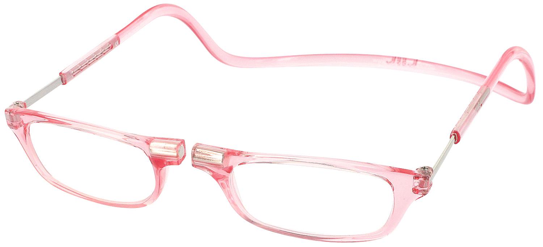 Clic Half Frame Black Reading Glasses : Clic Reader Magnetic Reading Glasses ReadingGlasses.com ...