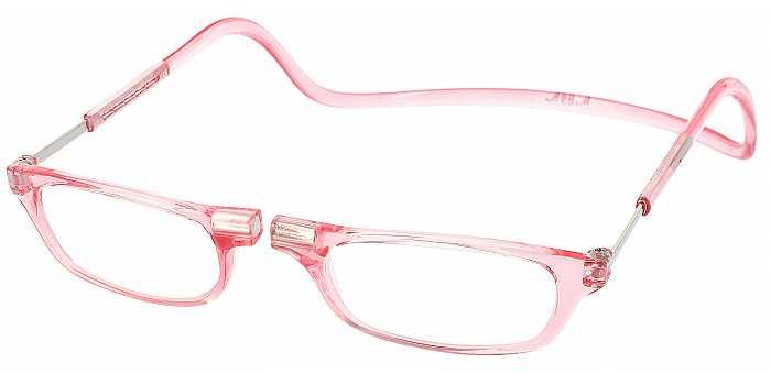 Clic Half Frame Black Reading Glasses : Mens Single-Vision Half-Frame - ReadingGlasses.com