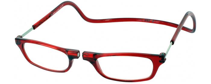 8aba25cb90 CliC Reader Photochromic Gray Single Vision Half Frame