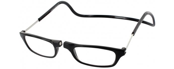 3518c37e862f Black Clic Reader Long Magnetic Reading Glasses - ReadingGlasses.com