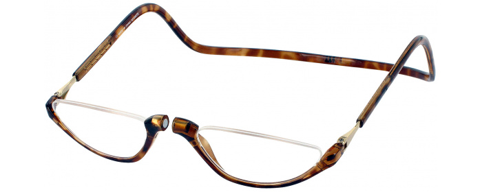 2db7af473f75 Light Tortoise Clic Sonoma Magnetic Reading Glasses - ReadingGlasses.com