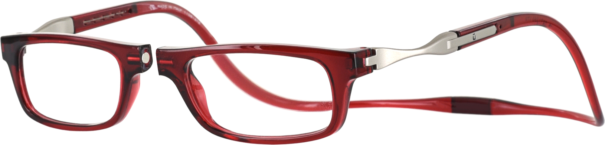 vunetic by clic single vision half frame readingglasses
