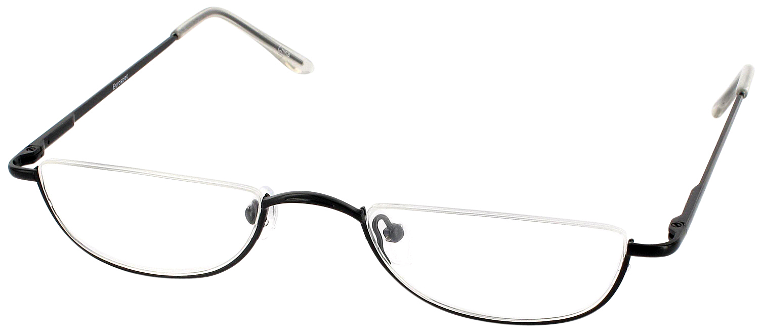 What Are Half Frame Glasses Called : Eurospec 39 - ReadingGlasses.com