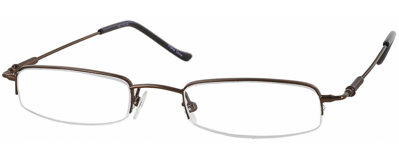 Rimless Glasses Distortion : Liberty II (Narrow to Average Fit) Designer Reading ...