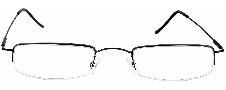 liberty ii l average to wide fit single vision half frame readingglassescom readingglassescom - Wide Frame Reading Glasses
