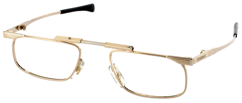 Half Frame Folding Reading Glasses : Slimfold III - Luxury Folding Reading Glasses by Kanda ...