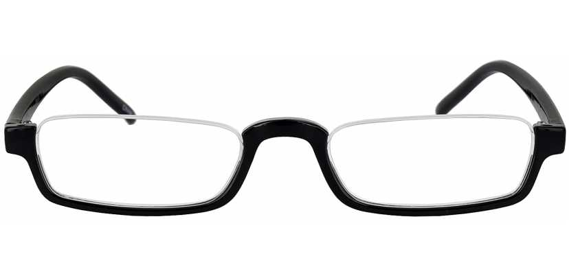 Single Vision Half Frame Reading Glasses | ReadingGlasses com