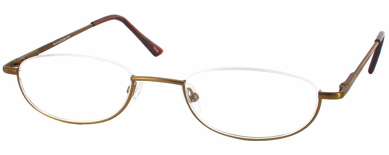 Average Eyeglass Frame Size : Clearview Half Frame Designer Reading Glasses by ...