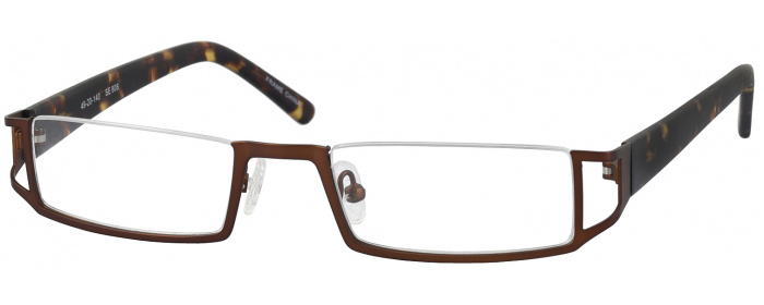 a71a88fe05 Bronze Seattle Eyeworks 808 Reading Glasses - ReadingGlasses.com