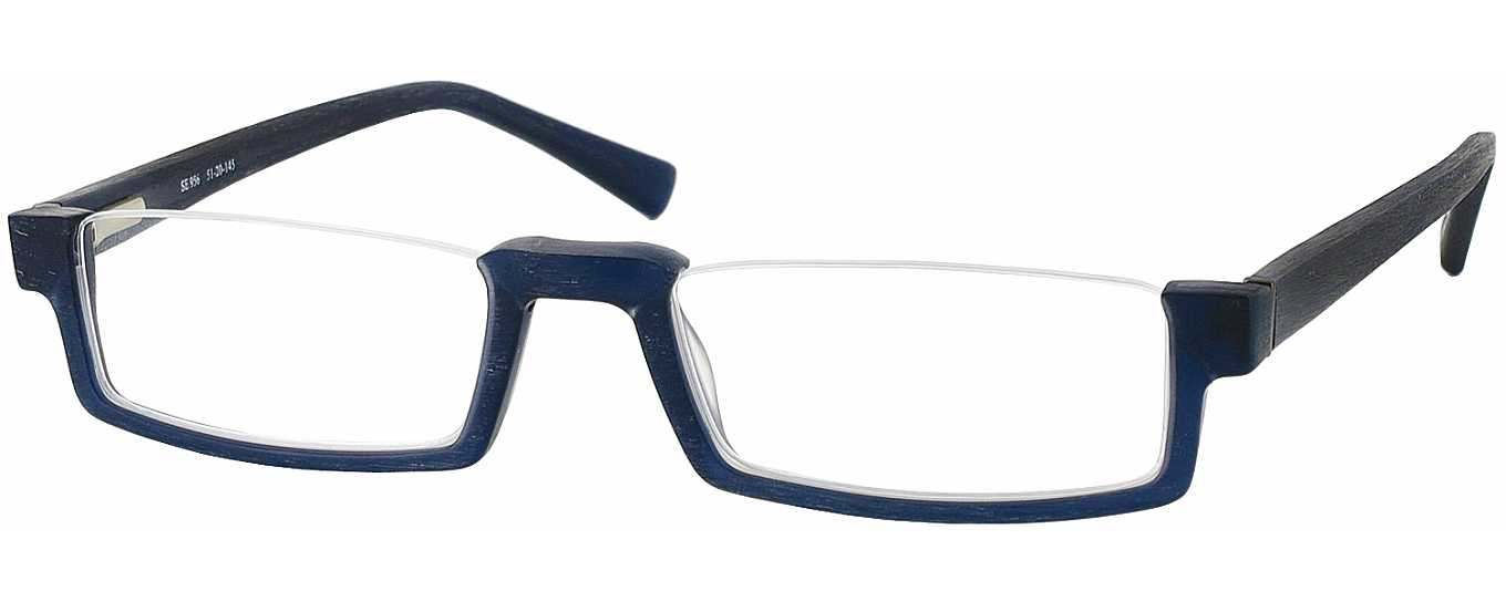 Seattle Eyeworks 956 Single Vision Half Frame ...