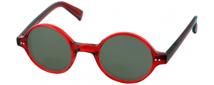 b1425563cf Crystal Red Berlin No Line Reading Sunglasses - ReadingGlasses.com
