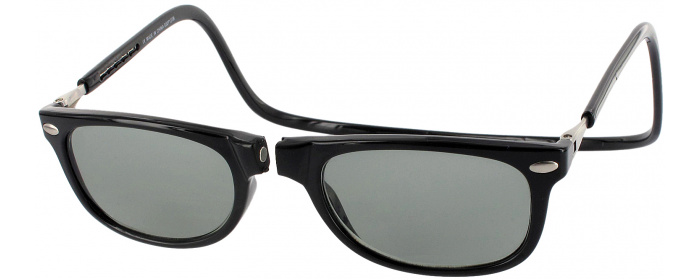 b819b09fbd Black Clic Ashbury No Line Reading Sunglasses - ReadingGlasses.com