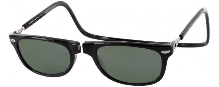 e870e7436b4 Black Clic Ashbury No Line Reading Sunglasses - ReadingGlasses.com
