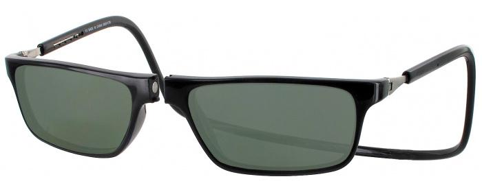 499cb5f8672 Black CliC Executive Progressive No Line Reading Sunglasses ...