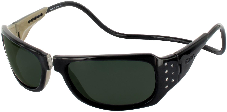 Clic Half Frame Black Reading Glasses : Clic Monarch Gem Magnetic No Line Sun Reader ...