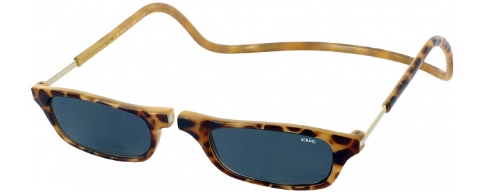 6a850e1cc0 Light Tortoise Clic Reading Sunglasses Magnetic Reading Glasses ...