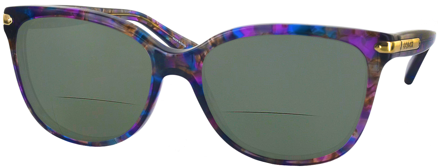 f9c8f7045647c italy coach eyeglasses hc6065 5288 confetti purple 51mm walmart 15540  c409f  ebay coach hc 8132 bifocal reading sunglasses 7be2d 67791