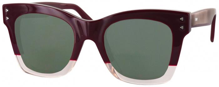 d74232982712 Opal Burgundy Fendi 0237S Progressive No Line Reading Sunglasses ...