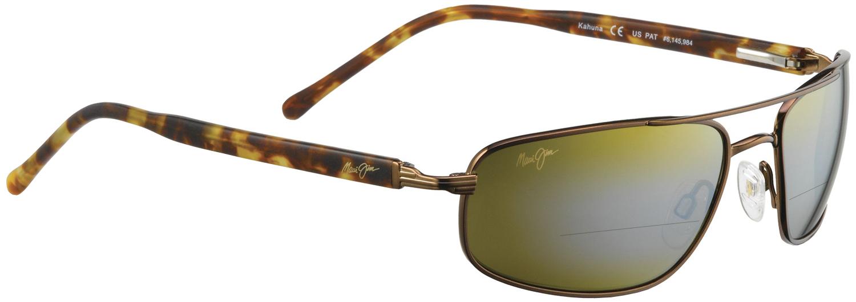 sunglass readers  Maui Jim Kahuna 162 Bifocal Sun Reader - ReadingGlasses.com