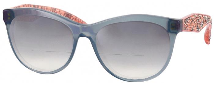 ce62cd249aa8 Miu Miu 08NV Bifocal Reading Sunglasses with Gradient ...