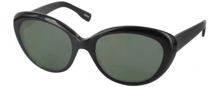 b1fec54972 Black Bridgette Polarized Bifocal Reading Sunglasses ...
