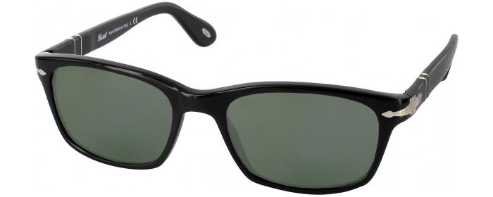 fe681a610b89b Black Persol 3012V Polarized Progressive No Line Reading Sunglasses ...