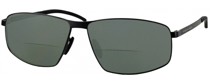 41b2e1c44e9e5 Black Porsche 8652 Bifocal Reading Sunglasses with Polarized ...