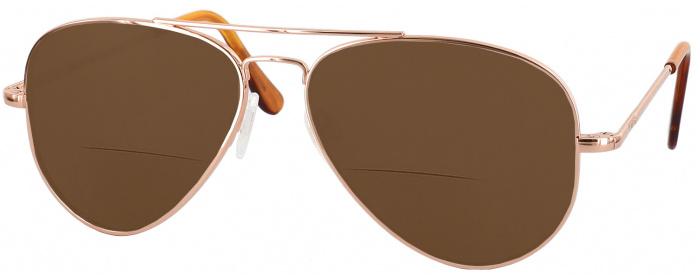 eb5c24ee3e 23k Rose Gold Randolph Concorde Bifocal Reading Sunglasses (Rose ...